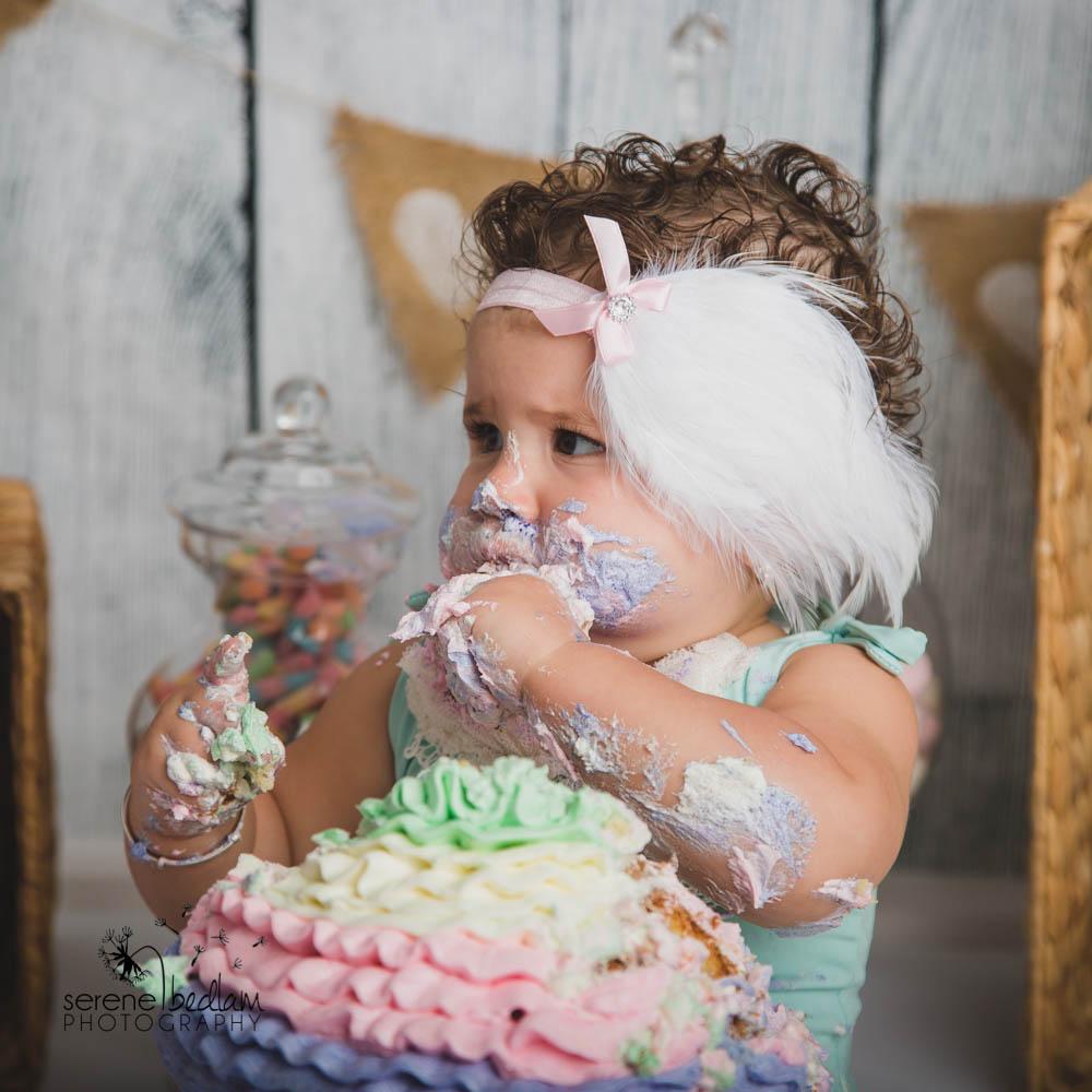 Serene Bedlam Cake Smash Photography Newman (10 of 18)