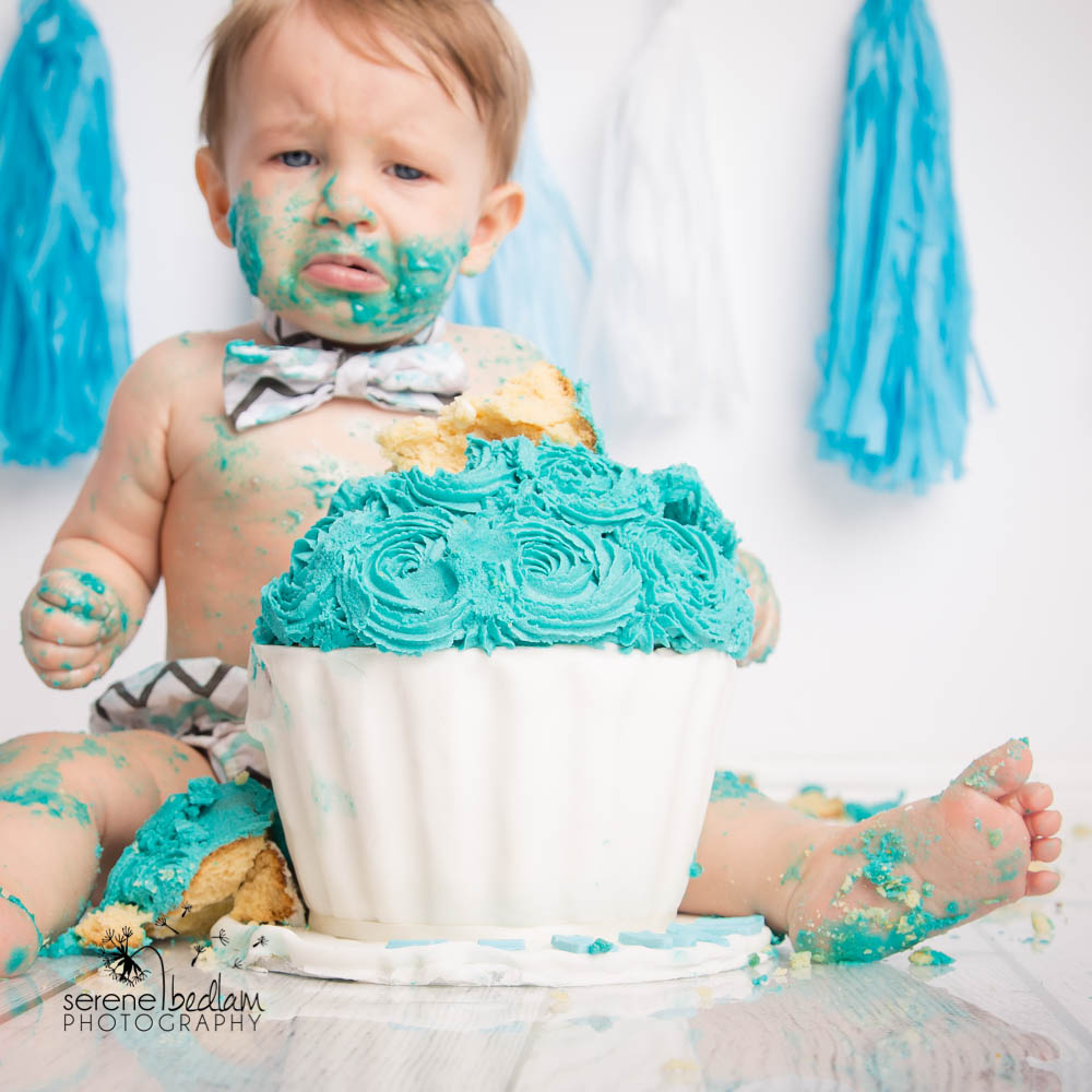 Serene Bedlam Cake Smash Photography Newman (14 of 18)