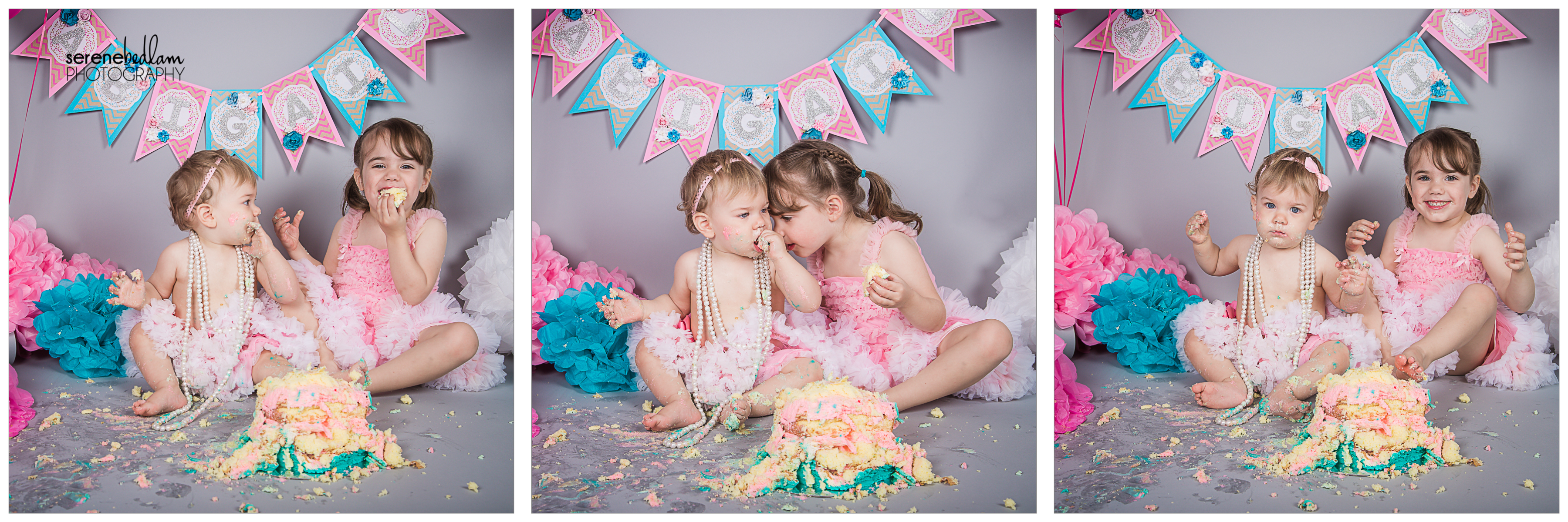 cake smash portrait photography serene bedlam abi