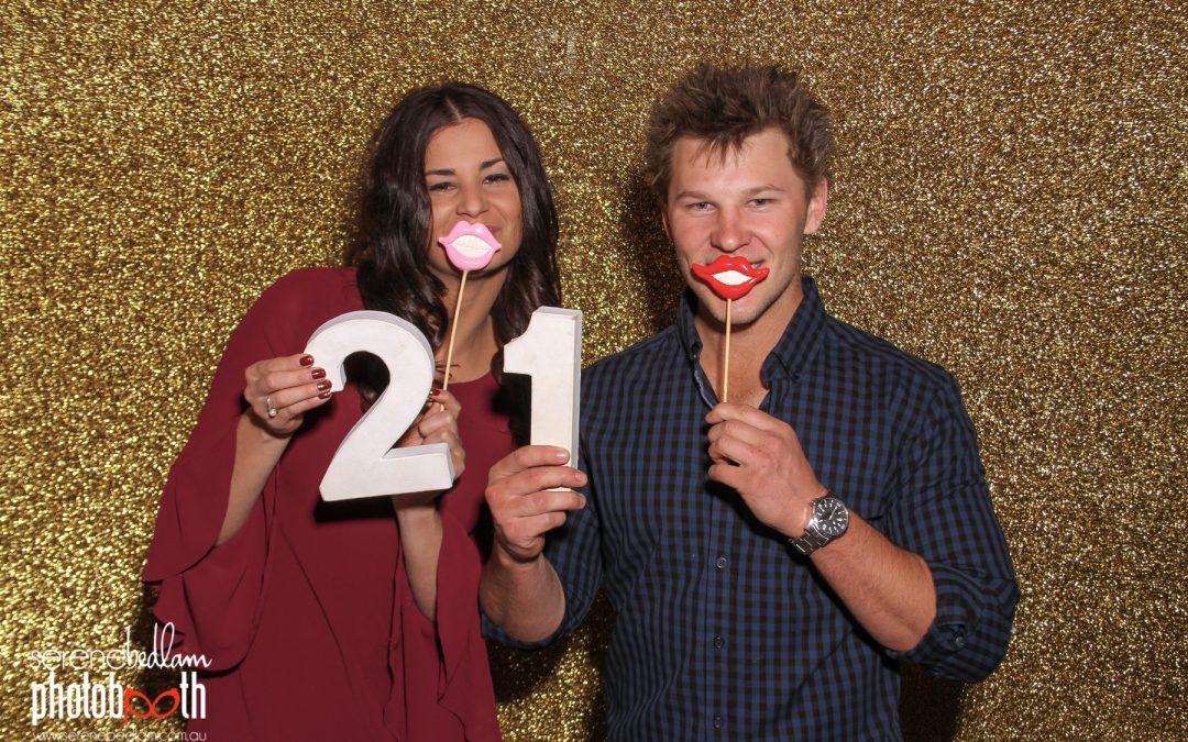 21st Birthday Photobooth