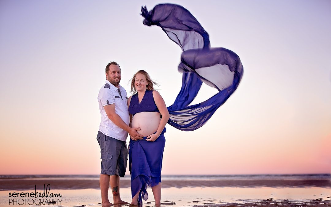 Pilbara Beach Maternity Photography – Jess