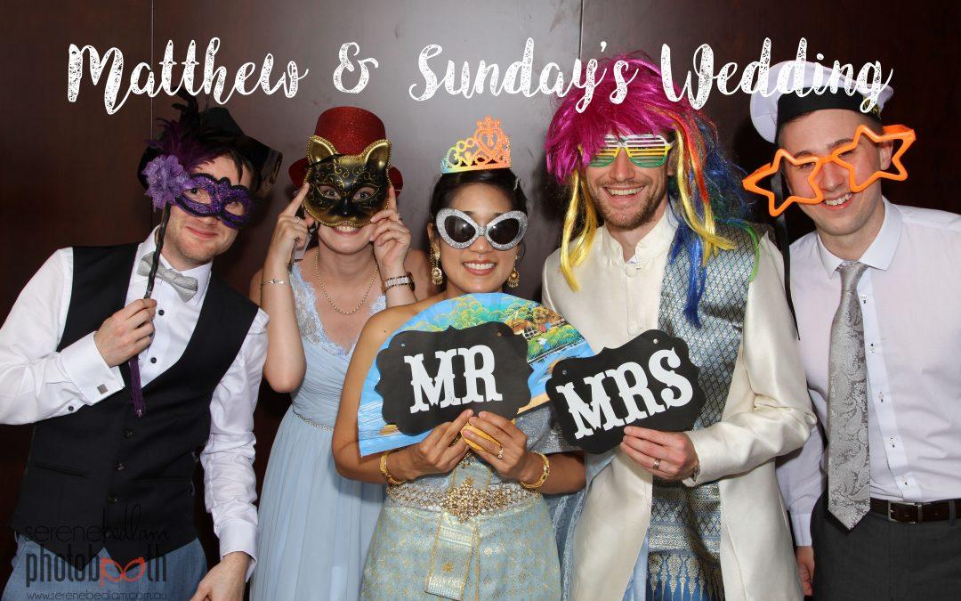2016 New Year's Eve Photobooth – Matthew & Sunday's Wedding