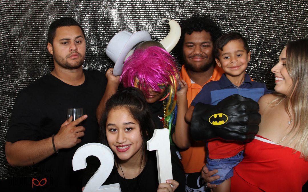 2017 Newman Photobooth 21st Kaya (Bala)