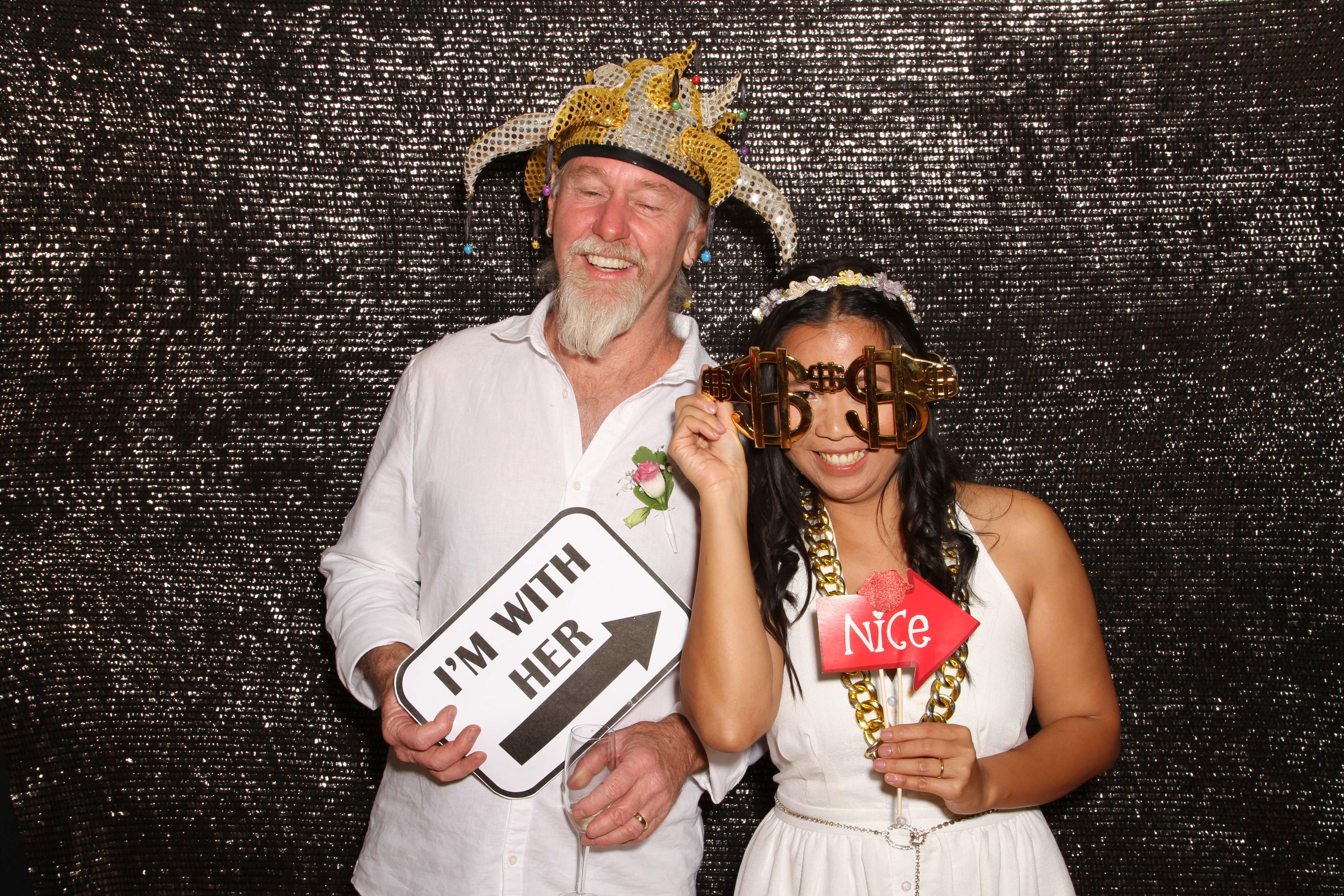 Newman Wedding Photobooth