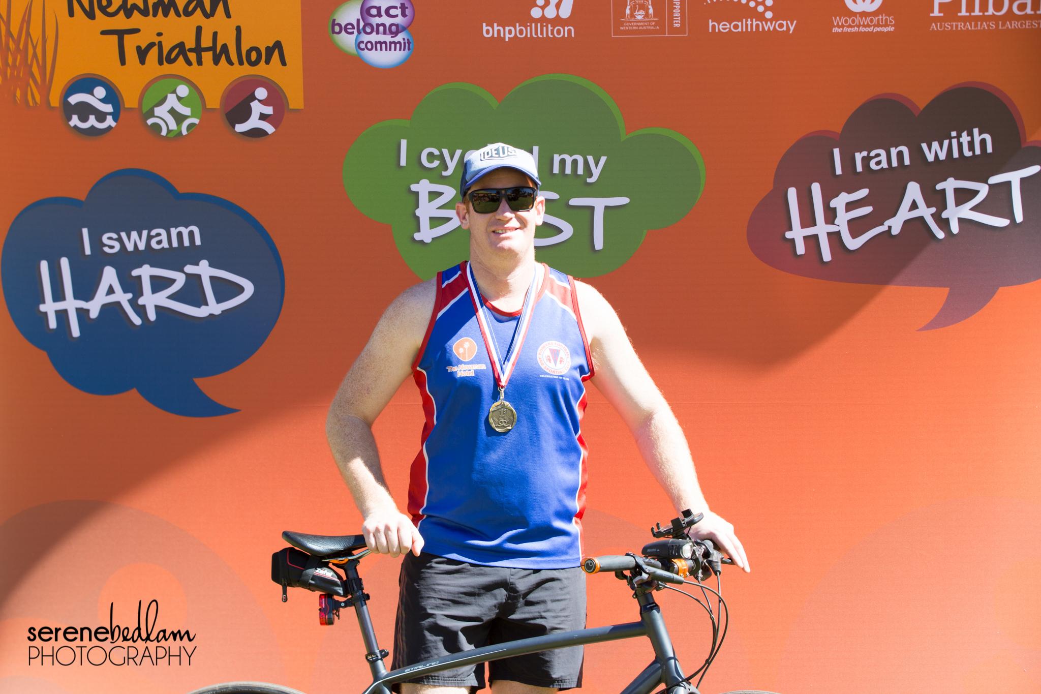 Newman Triathlon Event Photography