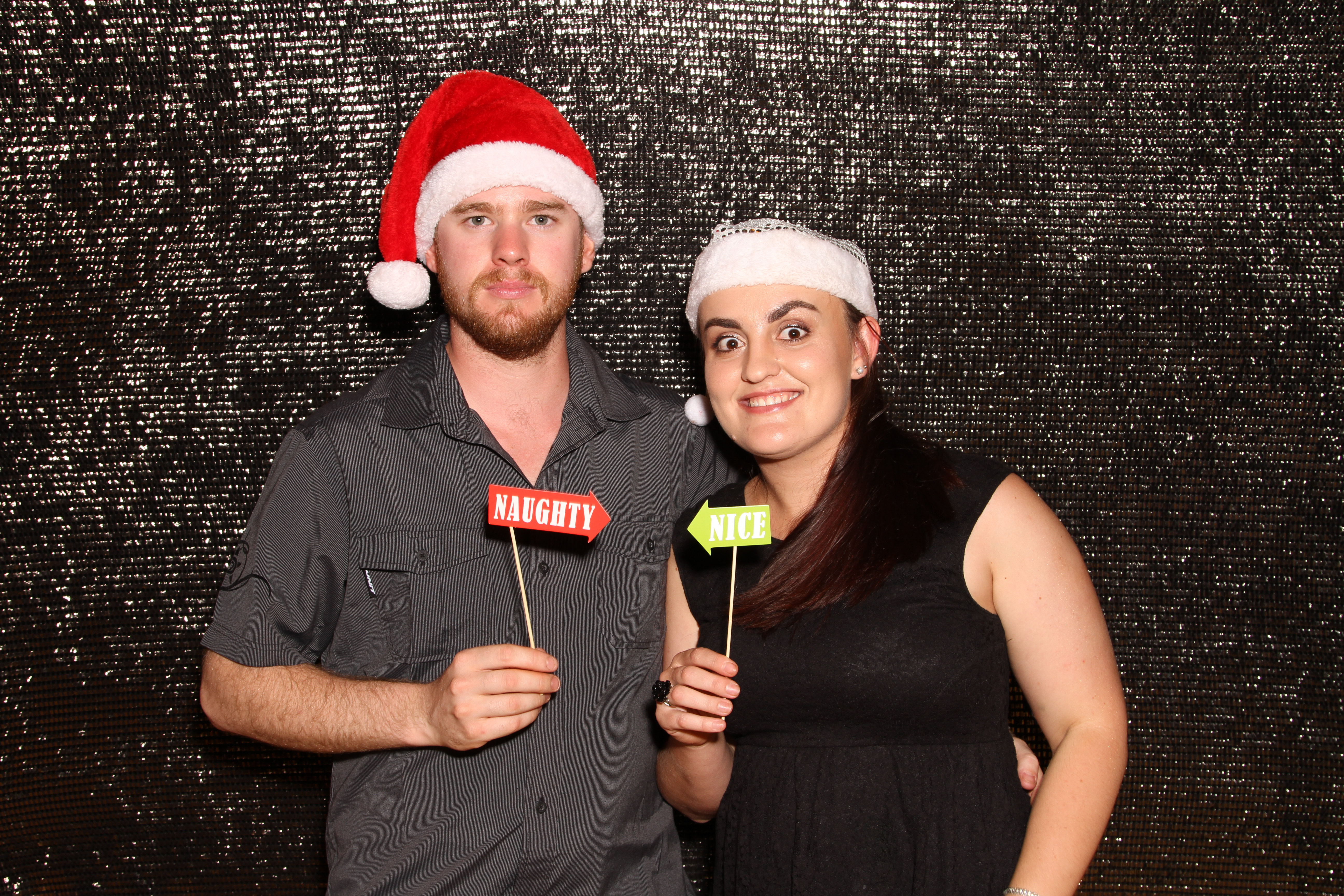 Serene Bedlam Christmas Party Photobooth 2017