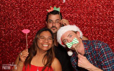 St John Ambo Christmas Party Photobooth