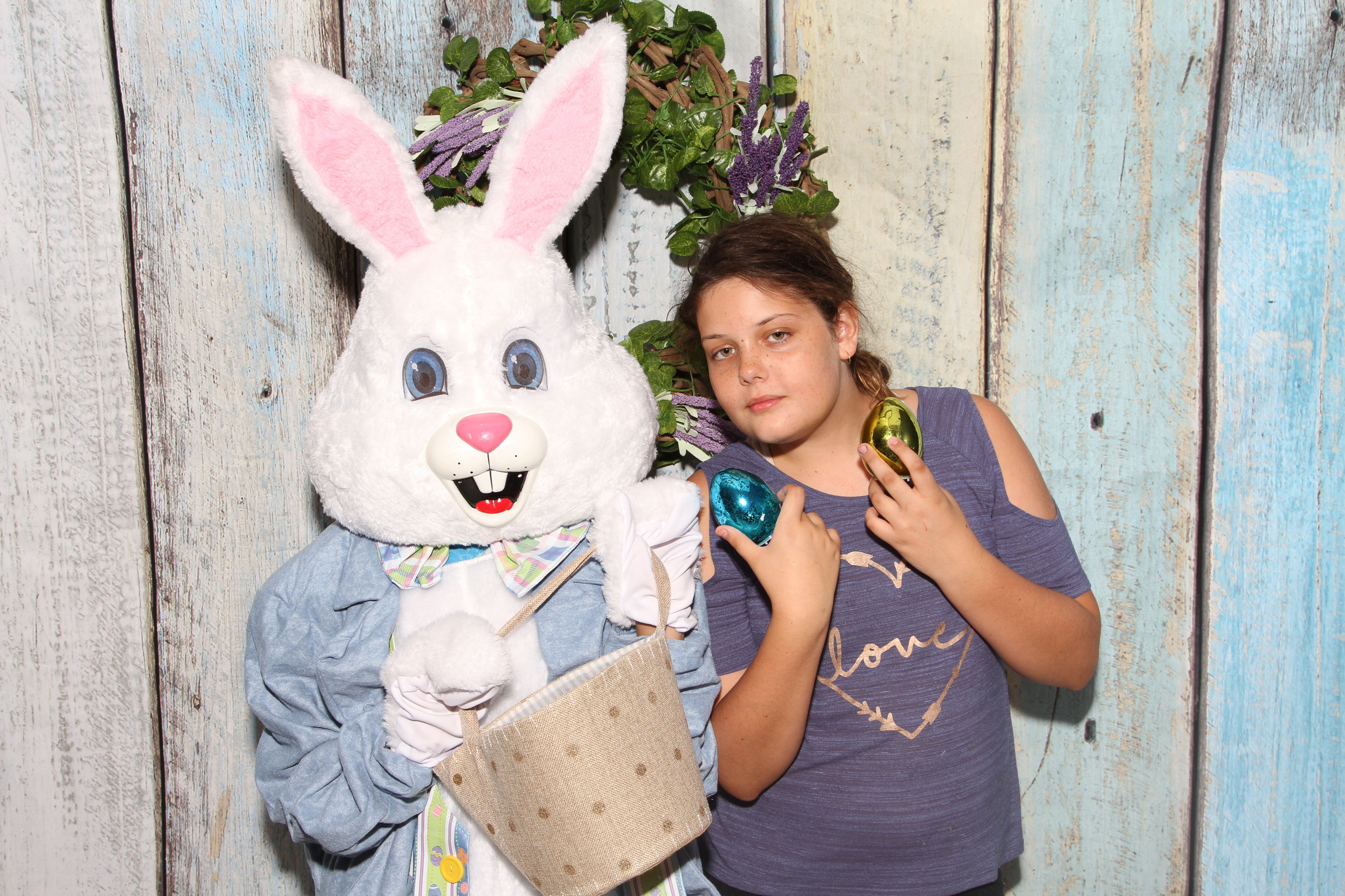Easter Bunny in Newman