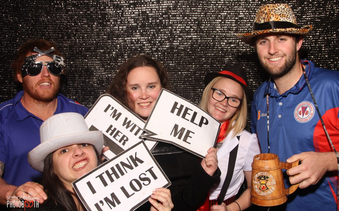 Pioneers Evening 2018 Themed Photobooth