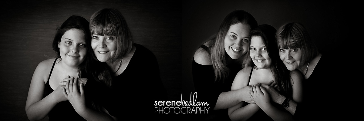 three generations photography serene bedlam