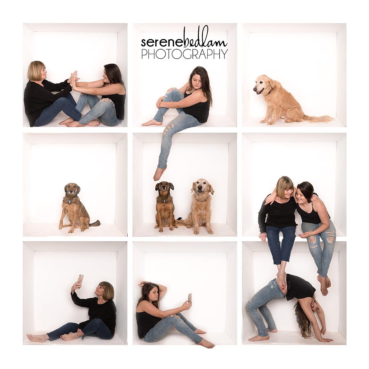 three generation family photography