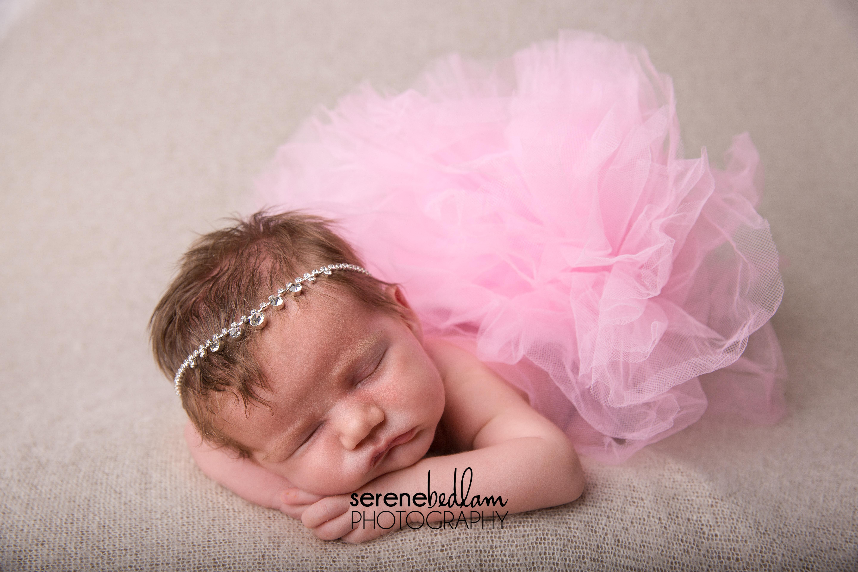 Serene Bedlam Studio Newborn Photography Sophia