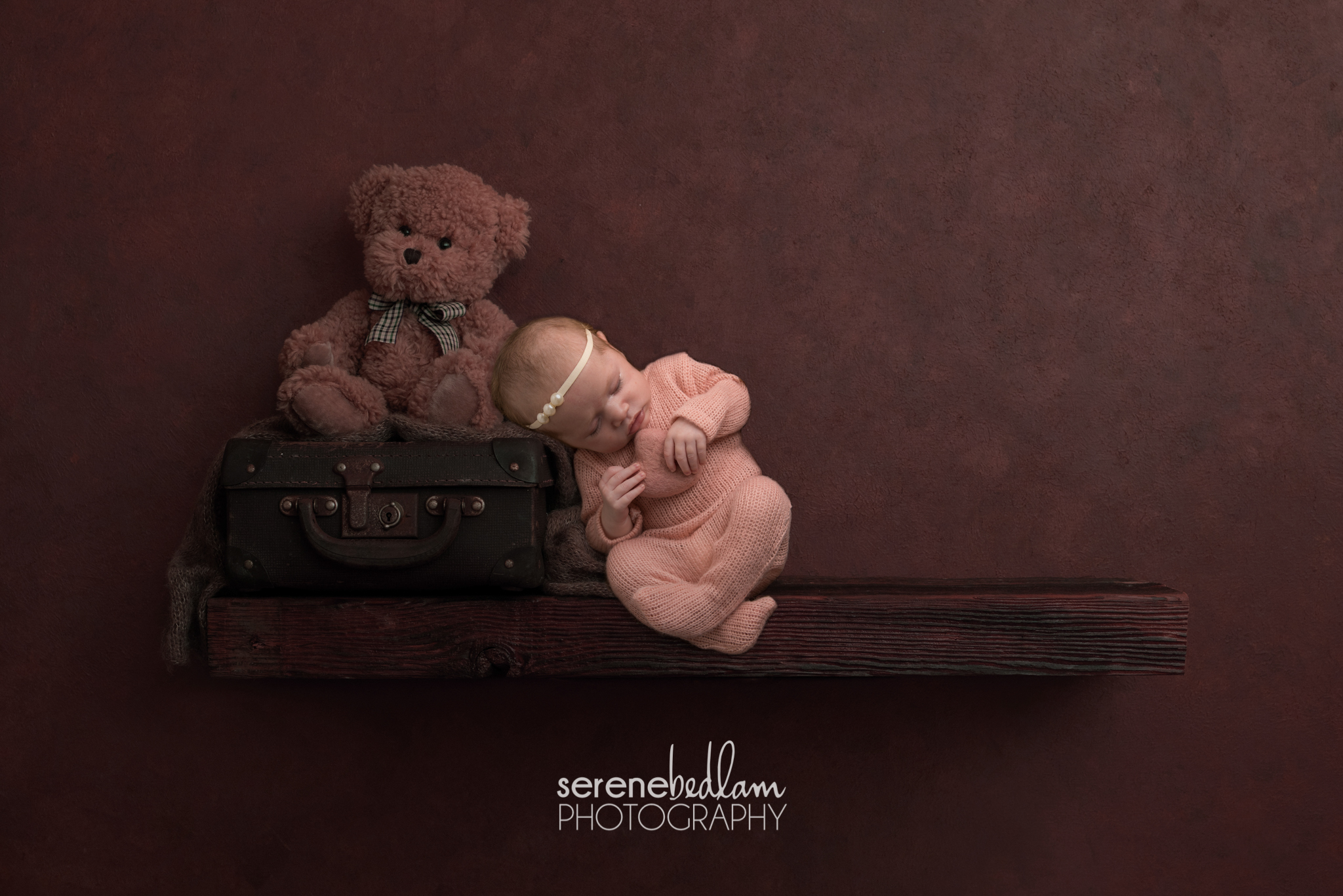 Serene Bedlam Newborn Photography
