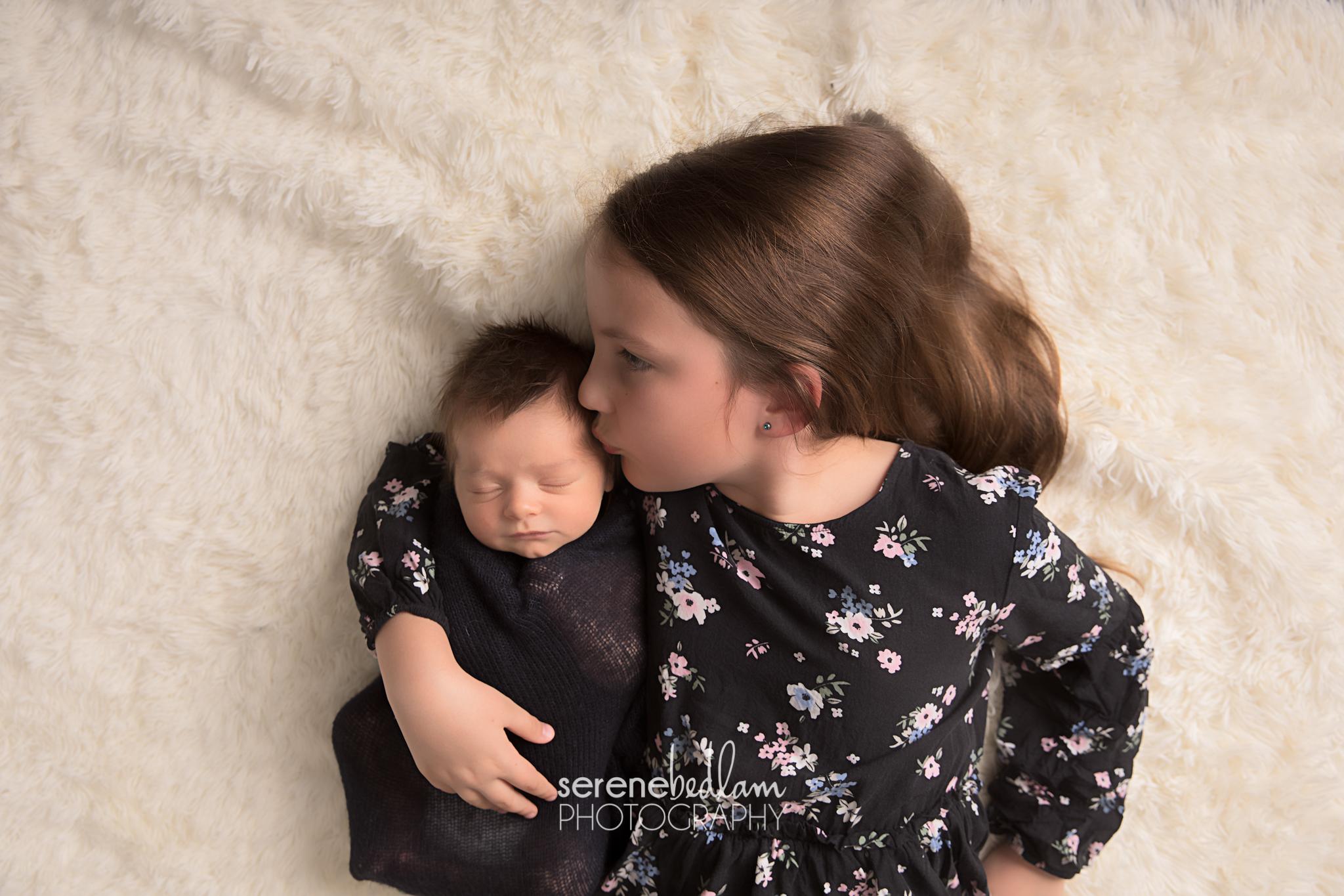 Serene Bedlam Newborn Photography