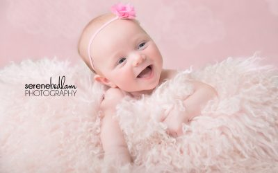 3 Month Milestone Photography – Milla