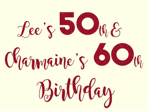 Milestone Birthday Photo Booth